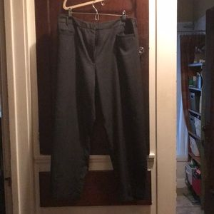 Gray trousers by the Avenue, size 26 petite